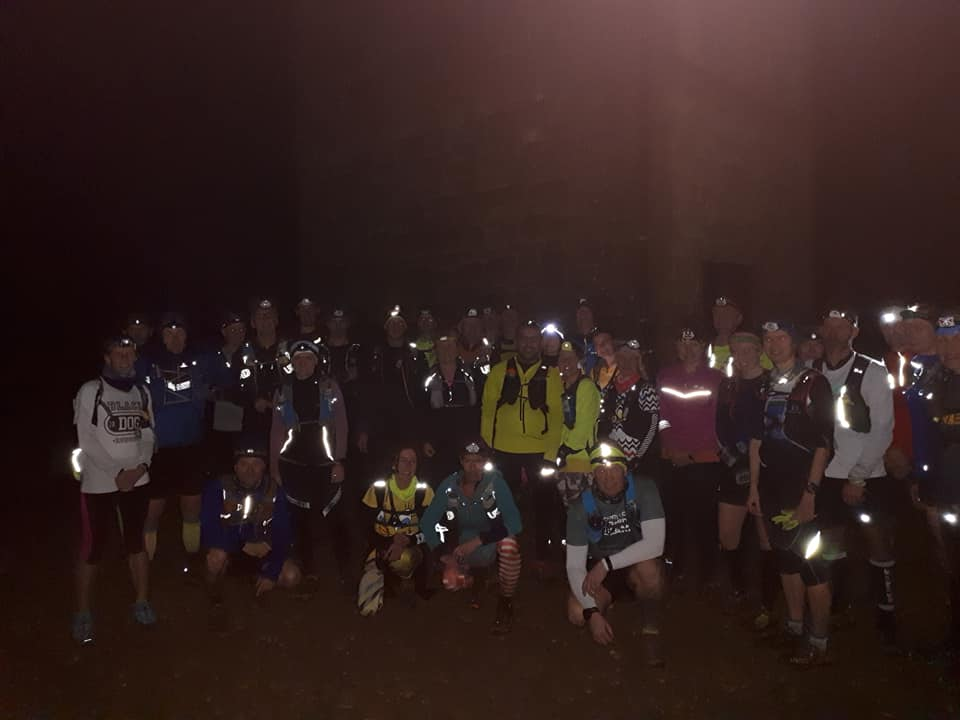 Headtorch marathon runners 2019
